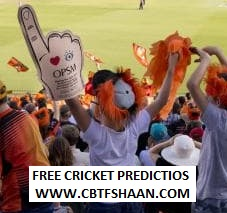 Cricket Betting Tips Free of Big Bash T20 Match 20th Dec 2018