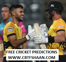 Cricket Betting Tips Free of Mzansi T20 Match 11th Dec 2018