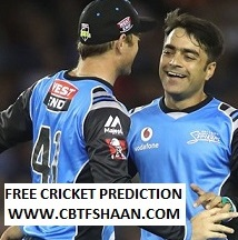 Cricket Betting Tips Free of Big Bash T20 Adelaide Strikers Vs Sydney Sixers 6th Jan 2019 at Adelaide