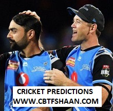 Cricket Betting Tips Free of Big Bash T20 Adelaide Vs Sydney Sixer 29th Jan 2019 at Sydney