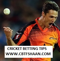 Cricket Betting Tips Free of Big Bash T20 Perth Vs Sydney Thunder 2nd Jan 2019 at Perth