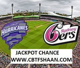 Cricket Betting Tips Free of Big Bash T20 Sydney Sixer Vs Hobart Hurricane 23rd Jan 2019 at Sydney
