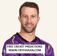 Cricket Betting Tips Free of Big Bash T20 Adelaide Vs Hobart 21st Jan 2019 at Adelaide