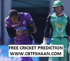Free Cricket Betting Tips of Hurricane Vs Star Bbl T20 1st SemiFinal 14th Feb 2019 at Hobart