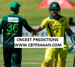 Cricket Betting Tips Free of Australia Vs Pakistan 1st Odi 22nd March 2019 at Sharjah