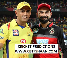 Cricket Betting Tips Free of Ipl T20 Chennai Vs Bangalore 23rd March 2019 at Chennai