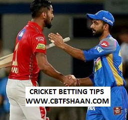 Cricket Betting Tips Free of Ipl T20 Rajsthan Vs Punjab 25th March 2019 at Jaipur