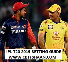 Indian Premier League T20 2019 Betting Tips Preview For Punters