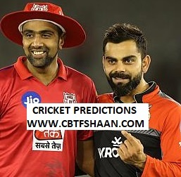 Cricket Betting Tips Free of Ipl T20 Bangalore Vs Punjab 24th Aprill 2019 at Bangalore