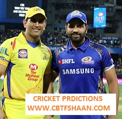 Cricket Betting Tips Free of Ipl T20 Mumbai Vs Chennai 26th Aprill 2019 at Chennai