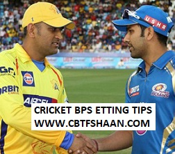 Cricket Betting Tips Free of Ipl T20 Mumbai Vs Chennai 3rd Aprill 2019 at Mumbai