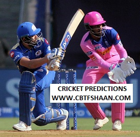 Cricket Betting Tips of Ipl T20 Mumbai Vs Rajsthan 20th Aprill 2019 at Jaipur