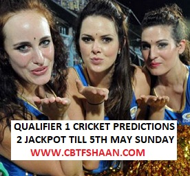 Cricket Betting Tips Free of Qualifier 1 Ipl T20 7th May 2019 at Chennai Punters