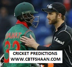 Cricket Betting Tips Free of Icc World Cup Bangladesh Vs Newzealand Odi Match 5th June 2019 At Oval London