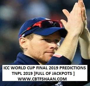 Cricket Betting Tips Free of Icc World Cup Final Match 14th July 2019 At London