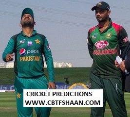 Free Cricket Betting Tips of Icc World Cup Pakistan Vs Bangladesh Match 5th July 2019 At Lords