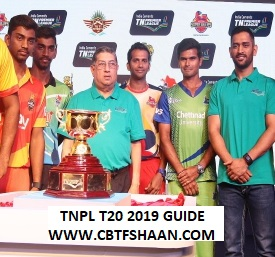 Mission Tnpl T20 2019 Cricket Betting Preview for Punters and Bookies to win big