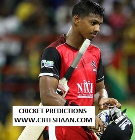 Cricket Betting Tips Free of Guyana Amazon Warriors Vs St Kitts And Nevis Patriots Cpl t20 8th Sep 2019 At Guyana