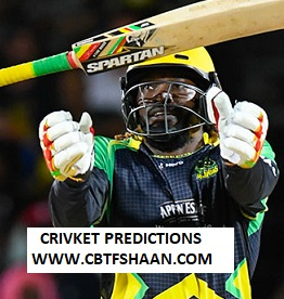 Cricket Betting Tips Free of Jamaica Tallawahs Vs Barbados Trident Cpl t20 15th Sep 2019 At Jamaica