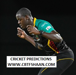 Cricket Betting Tips Free of St Kitts And Nevis Patriots Vs Barbados Trident Cpl t20 12th Sep 2019 At St kitts