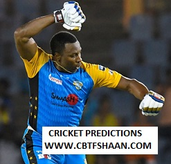 Cricket Betting Tips Free of Trinbago Knight Riders Vs St Lucia Zouks Cpl t20 8th Sep 2019 At Trinidad