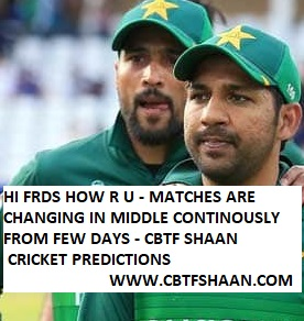 Free Cricket Betting Tips of Odi Series Pakistan Vs Srilanka 1st Odi 27th Sep 2019 At Karachi