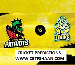 Free Cricket Betting Tips of St Lucia Vs St Kitts Cpl T20 25th Sep 2019 At St Lucia