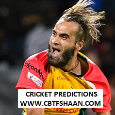 Free Cricket Betting Tips of Grand Final Guyana Vs Barbados Trident Cpl T20 12th Oct 2019 At Trinidad