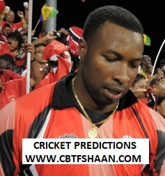 Free Cricket Betting Tips of Trinbago Vs Barbados Cpl T20 3rd Oct 2019 At Trinidad