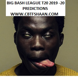 Mission Big Bash League T20 2019-20 Betting Preview before series for Punters To Win Big