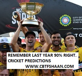 Mission Mzansi Premier League T20 2019 Betting Preview before series for Punters To Win Big With Fantasy Sports Too.