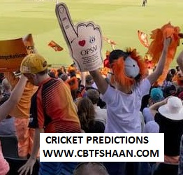 Free Cricket Prediction of Big Bash League T20 Perth Scorchers Vs Sydney Sixer 26th December 2019 At Perth