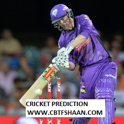 Free Cricket Prediction of Big Bash League T20 Perth Scorchers Vs Hobart Hurricane 13th Jan 2020 At Hobart