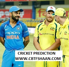 Free Cricket Prediction of India Home Series 1st Odi India Vs Australia 14th Jan 2020 At Mumbai
