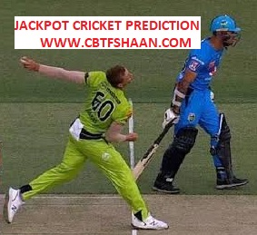 Free Cricket Prediction of Knockout Big Bash T20 Adelaide Strikers Vs Sydney Thunder 1st Feb 2020 Adelaide