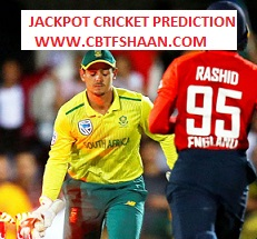 Free Cricket Prediction of 3rd T20 South Africa Vs England 16th Feb 2020 At Centurion