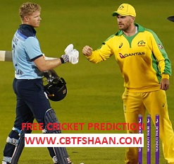 Free Cricket Prediction of England Vs Australia 2nd Odi 13th September 2020 At Manchester - CBTF Live Online Free Cricket Predictions Daily